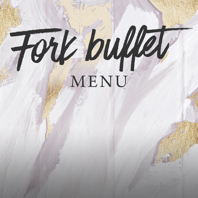 Fork buffet menu at The Albany