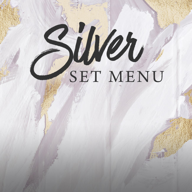 Silver set menu at The Albany