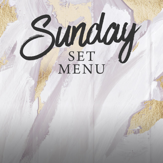 Sunday set menu at The Albany