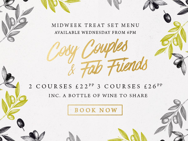 Midweek treat at The Albany - Book now